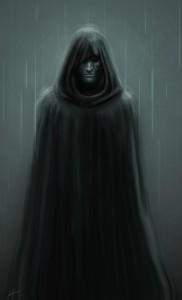 Cloaked Figure