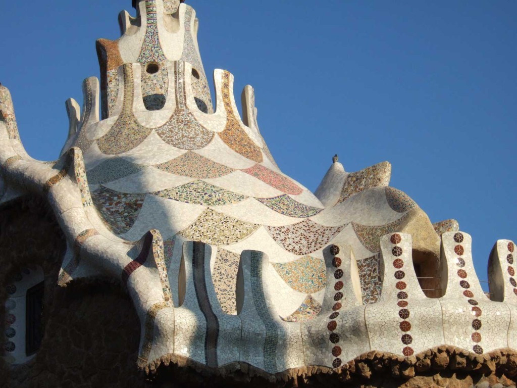 Parc-guell-spires
